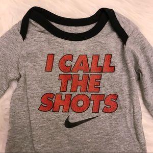 52b7f4f066 Nike Matching Sets | Nwt I Call The Shots Infant 2 Pc Set 03m | Poshmark